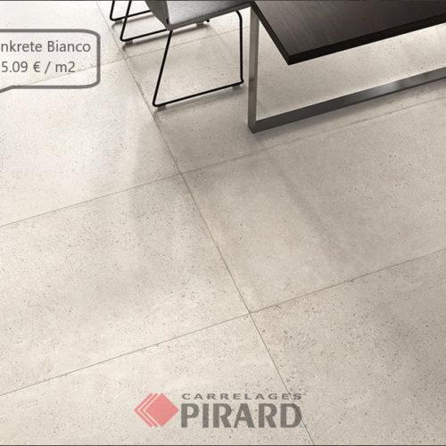 Carrelages Pirard | Castelvetro Konkrete Bianco