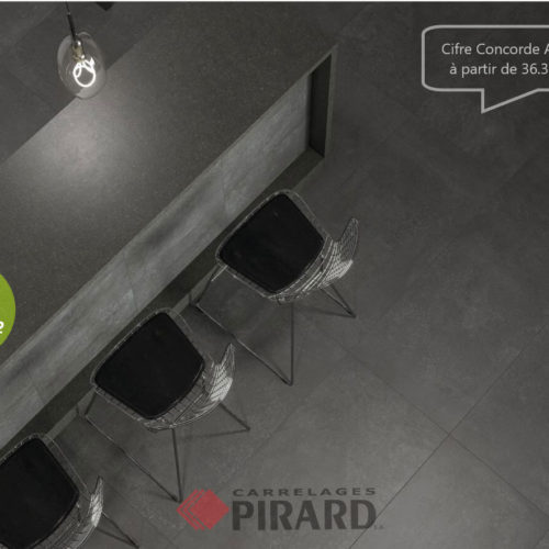 Carrelages Pirard | Cifre Concorde Anthracite