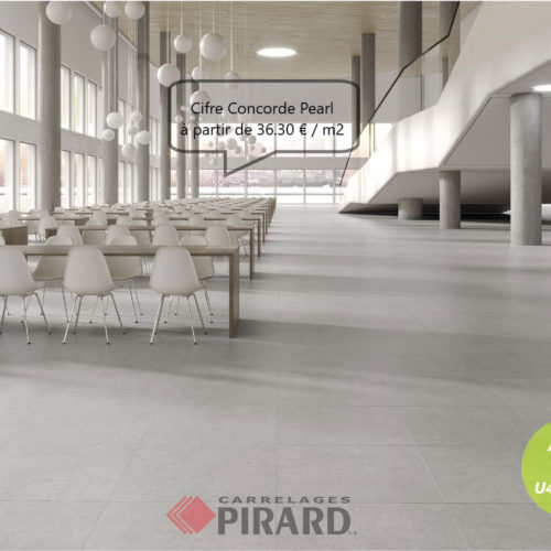 Carrelages Pirard | Cifre Concorde Pearl